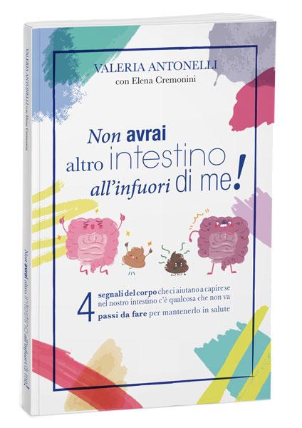 Libro sull'intestino di Valeria Antonelli